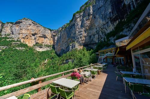Terrasse Grotte de Choranche