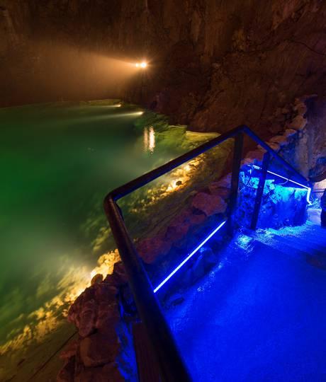 Son et lumière Grotte de Choranche